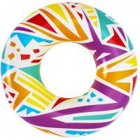 Geometriai mintázatú úszógumi 107 cm Bestway 36228 - Fehér