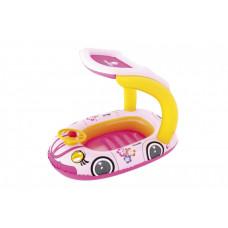 Felfújható autó csónak BESTWAY 34103 - Rózsaszín