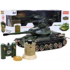 RC Tank T-34 interaktív rejtekhellyel 1:28  Előnézet