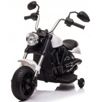 Elektromos kismotor Chopper V-Max - Fehér