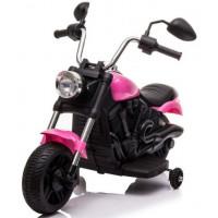 Elektromos kismotor Chopper V-Max - Rózsaszín