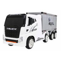 Elektromos konténerszállító kamion Inlea4Fun - Fehér