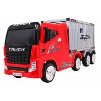 Elektromos konténerszállító kamion Inlea4Fun - Piros