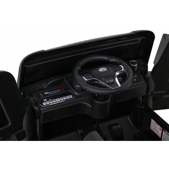Elektromos konténerszállító kamion Inlea4Fun - Fekete