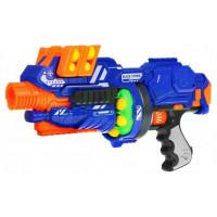 Szivacslövő fegyver 12 darab szivacslabdával BLAZE STORM