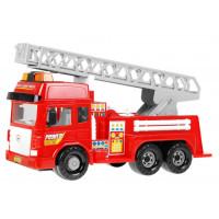 Inlea4Fun FIRE ENGINE Tűzoltóautó fény- és hanghatásokkal