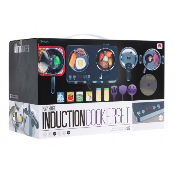 Inlea4Fun INDUCTION COOKER SET Konyhai edénykészlet 32 db kiegészítővel