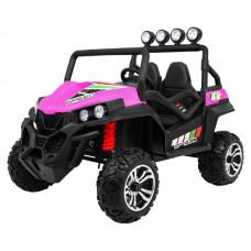 Inlea4Fun Buggy 4x4 elektromos négykerekű jármű - Rózsaszín Előnézet