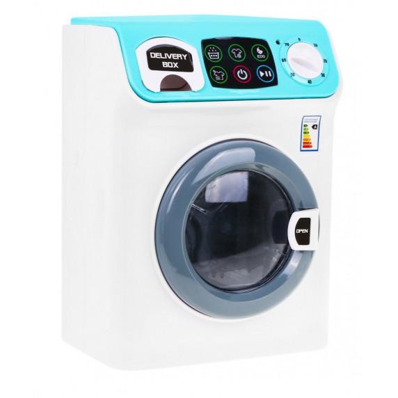 Inlea4Fun MY HOME Játék mosógép - fehér/kék