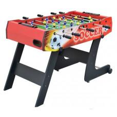 Inlea4Fun Asztali foci csocsó asztal 121x61x81 cm - piros Előnézet