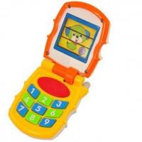 HOLA Bébi játék telefon hang- és fényeffektekkel