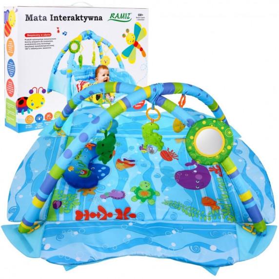 Inlea4Fun MATA Interaktív játszószőnyeg - Kék
