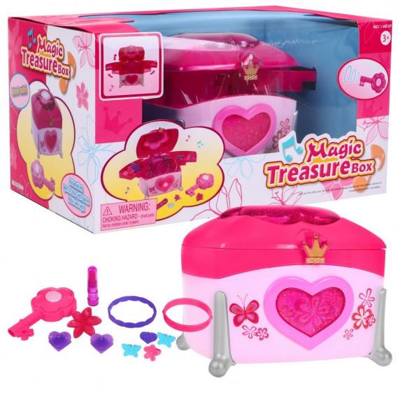 Ékszertartó kiegészítőkkel Inlea4Fun MAGIC TREASURE BOX