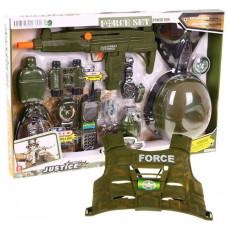 Inlea4Fun FORCE SET Katonai készlet jelmezzel Előnézet