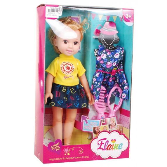 Játék baba 31 cm Inlea4Fun Elaine - szőke