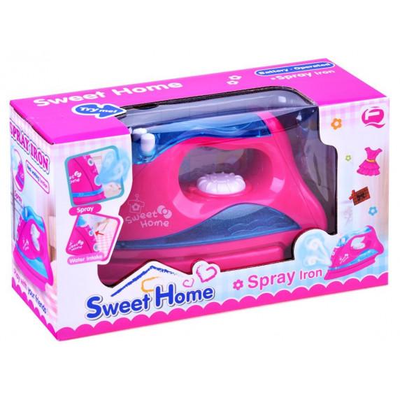 Játék vasaló Inlea4Fun SWEET HOME - rózsaszín