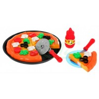 Inlea4Fun PIZZA Toy szeletelt pizza