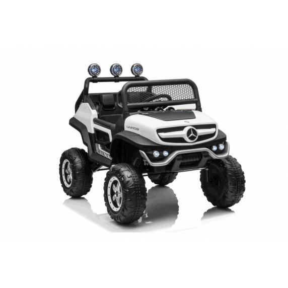 Elektromos négykerekű jármű Mercedes BENZ UNIMOG - Fehér