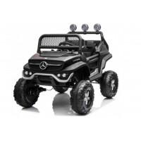 Elektromos négykerekű jármű Mercedes BENZ UNIMOG -Fekete