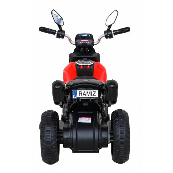 Elektromos háromkerekű Inlea4Fun Fast Tourist - piros