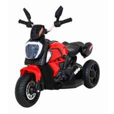 Elektromos háromkerekű Inlea4Fun Fast Tourist - piros Előnézet