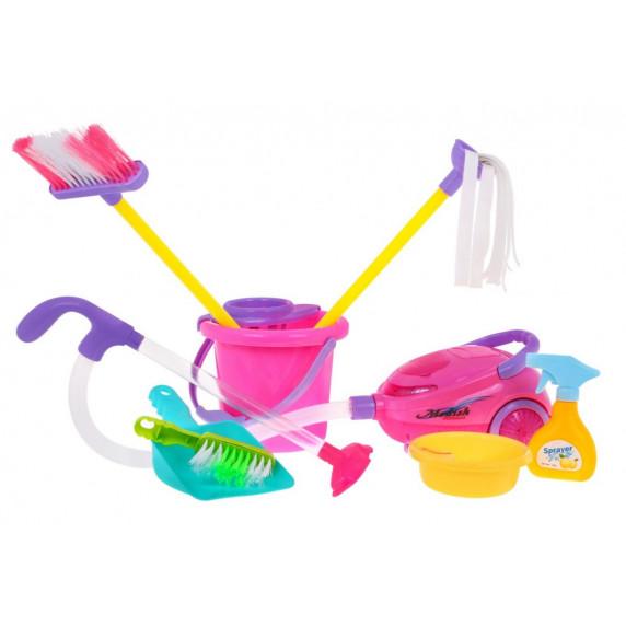 Játék takarító kocsi kiegészítőkkel Inlea4Fun Cute Toy