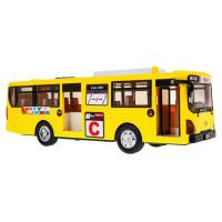 Játék autóbusz Inlea4Fun CITYBUS - Sárga