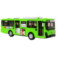 Játék autóbusz Inlea4Fun CITYBUS - Zöld