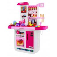 Játékkonyha kiegészítőkkel Inlea4Fun DELICOUS DRESSING - rózsaszín