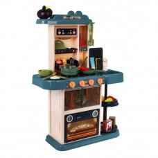 Inlea4Fun HOME KITCHEN játékkonyha 43 kiegészítővel - barna Előnézet