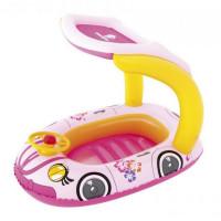 Felfújható autó csónak BESTWAY - Rózsaszín
