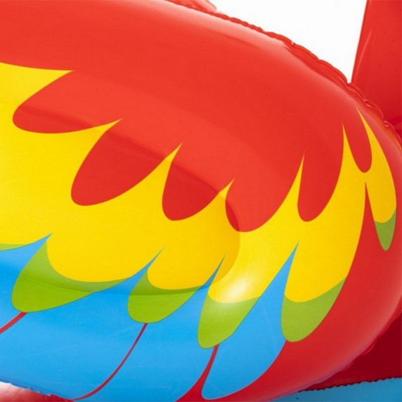 Felfújható papagáj matrac 203x132 cm BESTWAY 41127