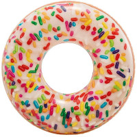 Felfújható matrac fánk INTEX Sprinkle Donut