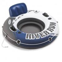 Felfújható matrac úszófotel INTEX 58825 RIVER RUN 135x135 cm