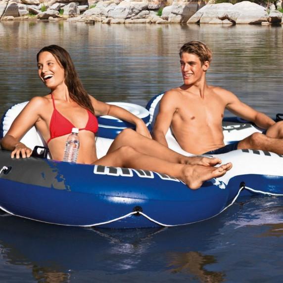 INTEX 58837EU kétszemélyes felfújható úszófotel 243x157 cm
