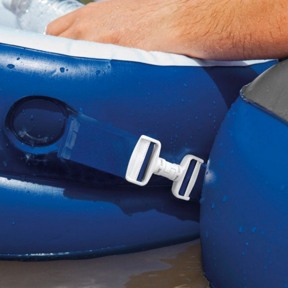 INTEX 58854EU felfújható matrac úszófotel RIVER RUN 130 x 126 cm