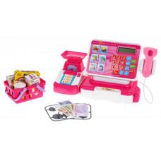 Inlea4Fun Pénztárgép rózsaszín kiegészítőkkel Előnézet