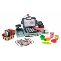 Inlea4Fun HAPPY SHOPPING Játék pénztárgép kiegészítőkkel