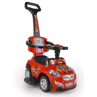 Milly Mally Happy 2az1-ben gyermekjármű - piros