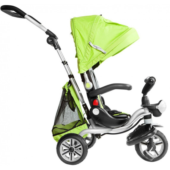 Inlea4Fun SporTrike ADVENTURE tricikli tolókarral - Zöld