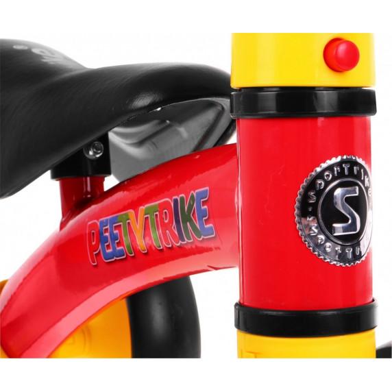 PEETYTRIKE lábbal hajtós kismotor - piros