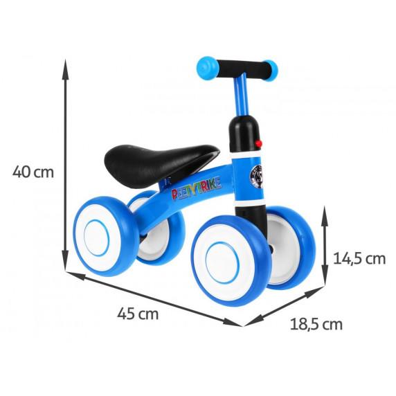 PEETYTRIKE lábbal hajtós kismotor - kék