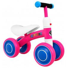 PEETYTRIKE lábbal hajtós kismotor - rózsaszín Előnézet