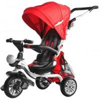 Inlea4Fun SporTrike ADVENTURE tricikli tolókarral - Piros