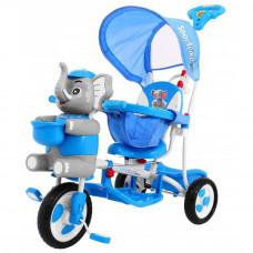 Tricikli Inlea4Fun Happy Elephant - kék Előnézet
