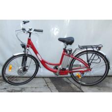 Z-Tech Lithium Ionos Elektromos Kerékpár (Piros) Előnézet