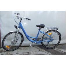 Z-Tech Lithium Ionos Elektromos Kerékpár (Kék) Előnézet