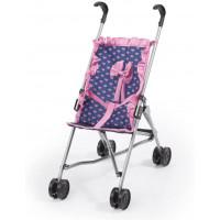 REIG játék sportbabakocsi - Kék/rózsaszín