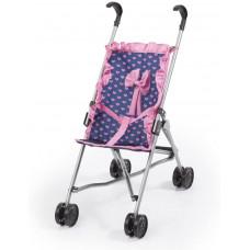 REIG játék sportbabakocsi - Kék/rózsaszín Előnézet