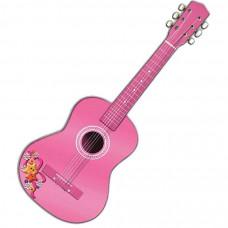Madera Játék fa gitár gyerekeknek 75 cm REIG Rózsaszín Előnézet